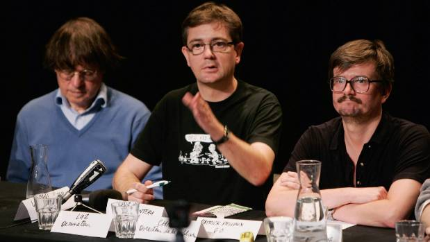 "THE BEST: Charlie Hebdo cartoonists Jean ""Cabu"" Cabut, Stephane ""Charb"" Charbonnier and Renald ""Luz"" Luzier in 2011."