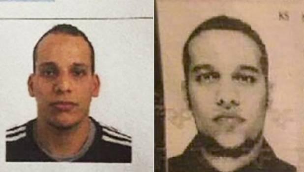 TERROR SUSPECTS: Cherif Kouachi and Said Kouachi