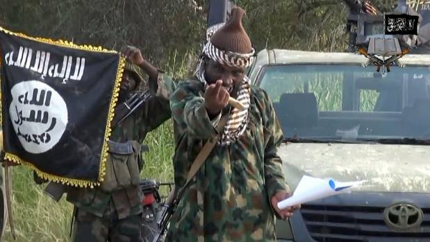 Screengrab from an video released by Boko Haram shows the leader Abubakar Shekau. More than 16,000 people have been ...