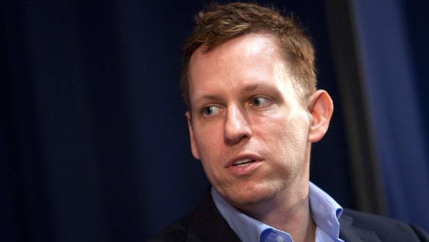 Peter Thiel co-founded global online payments system PayPal, before becoming an angel investor in Facebook.