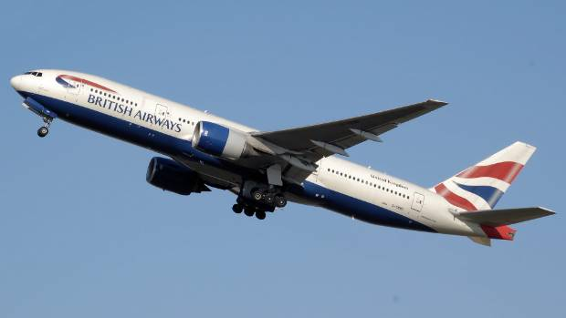 SUPERSONIC SPEED: A British Airways Boeing 777-200 rode winds of 320km/h across the Atlantic.