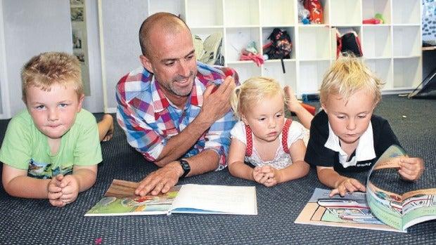 Ed Parker A Teacher At Moreporks Preschool In Blenheim Is Rare Bird