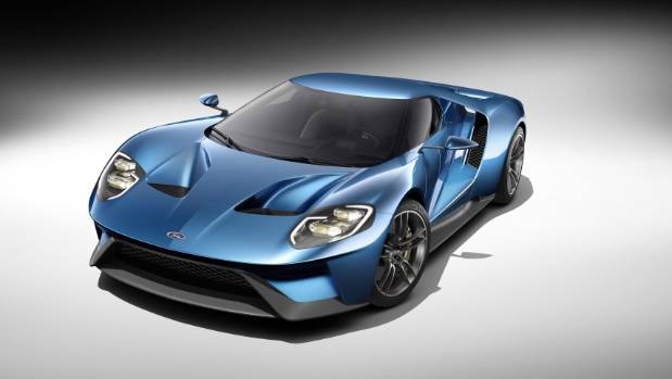 The All New Carbon Fiber Mid Engined Ford Gt Supercar