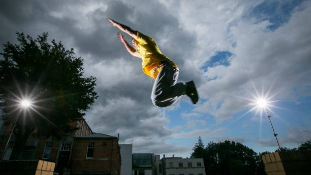 Action sports such as parkour have the International Olympic Committee interested. Pictured training is Hamilton parkour ...