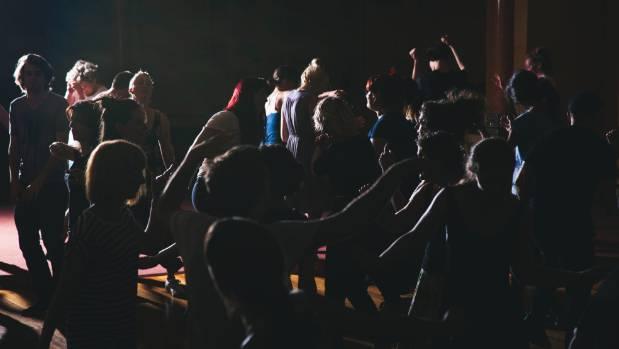 'Dance like nobody's watching', says Claire Smith, organiser of No Lights No Lycra in Waimauku.