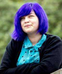 DEVOTED TO CAUSE: Tabby Besley has been honoured by the Queen for her gay youth advocacy work.