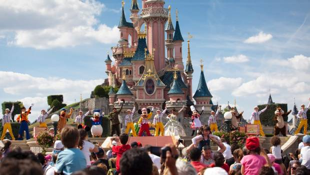 HAPPIEST PLACE ON EARTH: A measles outbreak at Disneyland has trigged warnings for tourists.