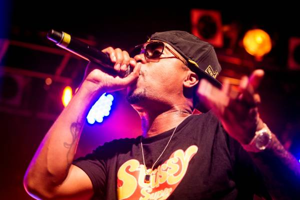 NAS perform at the Powerstation in Auckland