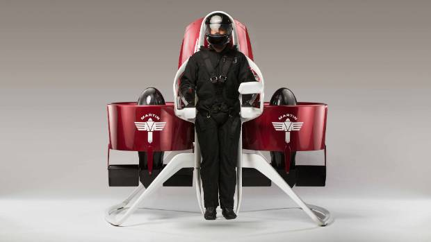 ON THE UP: Martin Aircraft is raising capital to fund the commercialisation of its signature Martin Jetpack.