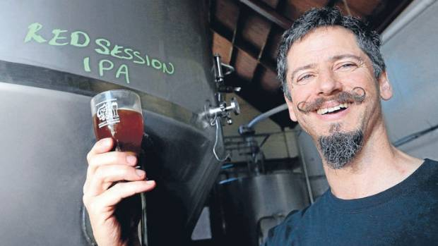 Renaissance Brewing head brewer Andy Deuchars is pleased to finally have proper brewing tanks.
