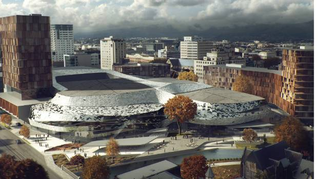 BIG PLANS: Will the Christchurch Convention Centre ever happen or will it remain pure fantasy?