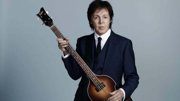Sir Paul McCartney is coming to New Zealand.