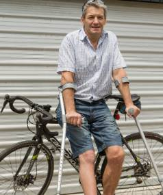 Christchurch man Tim Anderson'€™s new hip was created by a 3-D printer.
