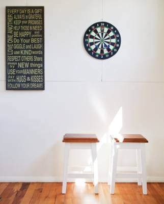 KEEP IT SIMPLE: Sticking to the basics creates a relaxed interior vibe in  your bach