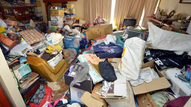 Elderly hoarders' belongings could create a fire and quake ...
