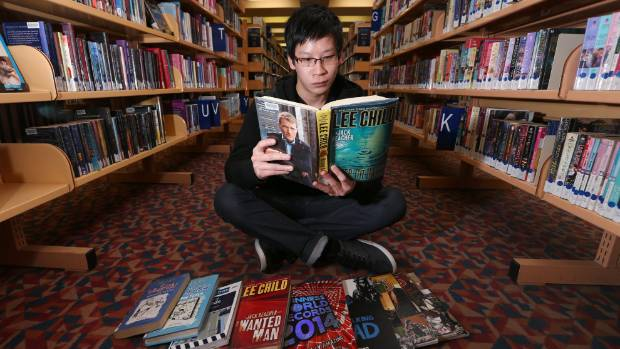 Invercargill Public Library readers advisory librarian Andrew Eng reads 2014's most issued book.