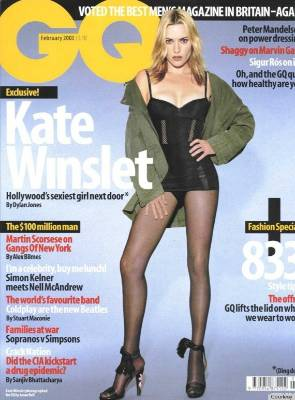 Kate Winslet has been the victim of a number of bad photoshopping jobs. In 2003 GQ photoshopped her so much Winslet said ...