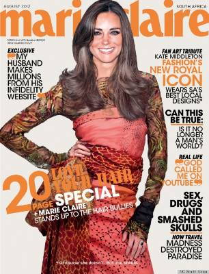 Australian Woman's Day isn't the first magazine to Photoshop Kate Middleton. Marie Claire South Africa went even further ...