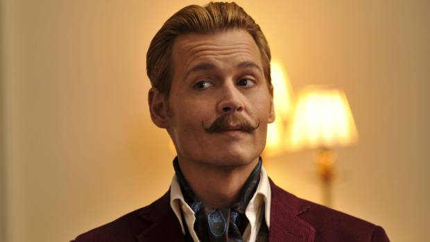 Johnny Depp's Mortdecai was a major flop at the box office.