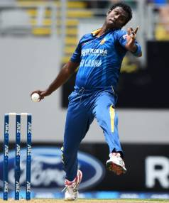 IN DOUBT: Sri Lankan captain Angelo Mathews missed the Dunedin double-header with a calf injury and has now come down ...