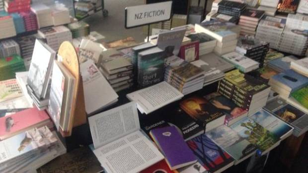 GOOD NEWS: Matt Bialostocki, who works at Unity Books, posted this on Twitter saying they had saved the NZ fiction.