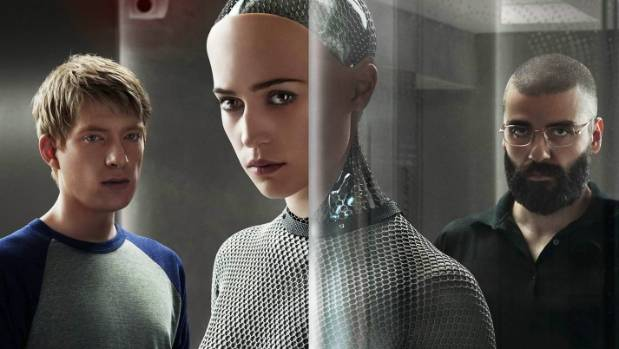 NOT SCIENCE FACT: Alex Garland's Ex Machina is one of thousands of films to explore the idea of hostile AI.