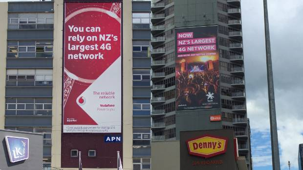 WHOSE IS BIGGER: Spark and Vodafone both say they have the largest 4G networks, and now they're advertising it.