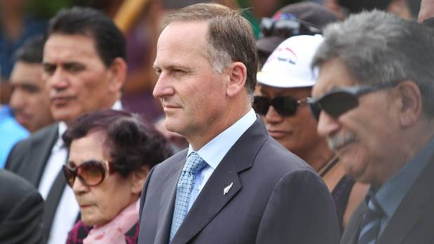 Prime Minister John Key was welcomed onto Te Tii Marae in Waitangi last year but has refused to attend this year.