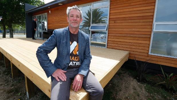 Sean Murrie, managing director of Matrix Homes, which designs modular housing at two-thirds the cost of traditional ...