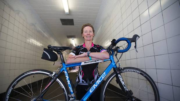 WHERE THERE'S A WHEEL: Louise Curtis' courage and determination knows no limits.