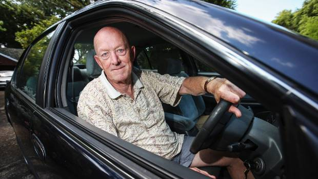 CLAMPED: Outraged driver Trevor Rogers.