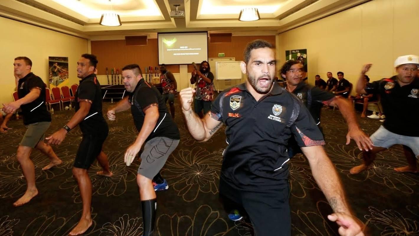 Indigenous Australian league players inspired by Kiwi haka and hope Kangaroos adopt their war cry