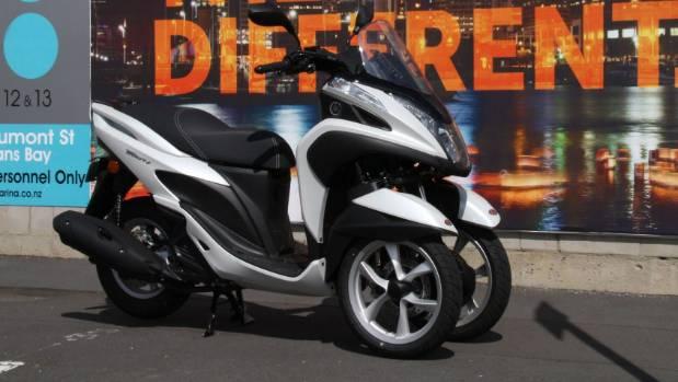 Yamaha's trike bike oddity is a car in NZ   Stuff co nz