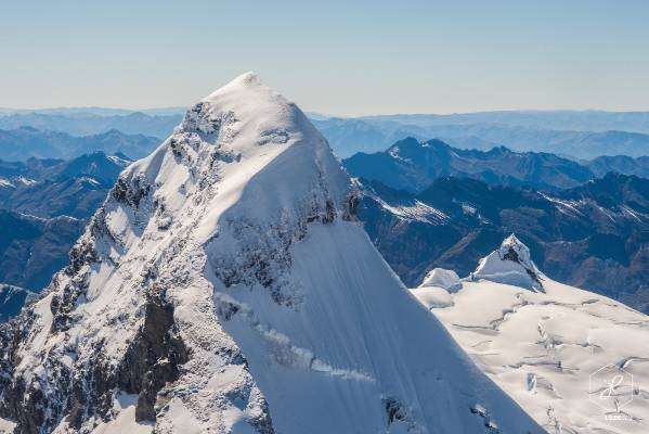 """""""Mt Aspiring, the matterhorn of the south. I got really close to it during a helicopter trip."""""""