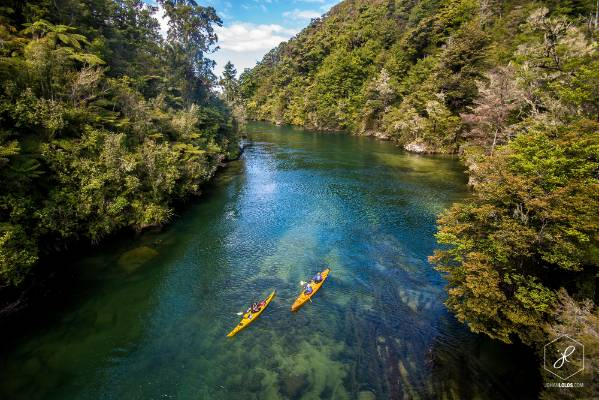 """""""Kayaking the crystal clear waters of Abel Tasman National Park has been one of my highlights in NZ."""""""