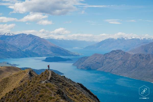 """An amazing view on Lake Wanaka from Roys Peak. A hard walk but definitely worth it."""