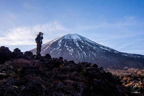 """""""Mt Ngauruhoe aka Mt Doom, in Tongariro National Park."""""""