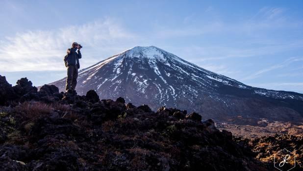 """""""Mt Ngauruhoe aka Mt Doom, in Tongariro National Park."""