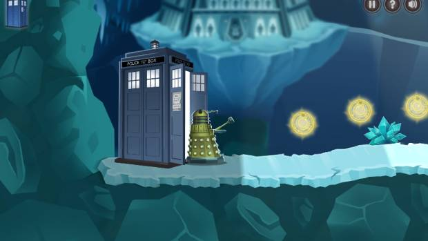 The Doctor and the Dalek is designed to teach kids the basics of Boolean logic-based programming.