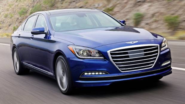 Hyundai Genesis: You could call it the Korean maker's answer to Lexus, but  it
