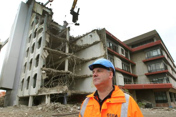 TRANSFORMED CITY: Hundreds of central city buildings have had to be demolished due to quake damage.