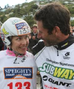 'INCREDIBLY SPECIAL':  In 2012, Richard Ussher and his wife, Elina, each won their Longest Day races.