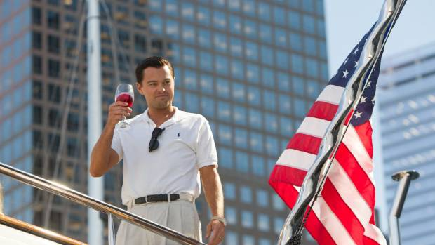"2013's ""The Wolf of Wall Street"" made nearly US$400 million at world box offices."