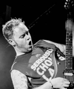 Wellington metal rocker Dan Hayston is among those disappointed at the apparent axing of The Axe Attack.
