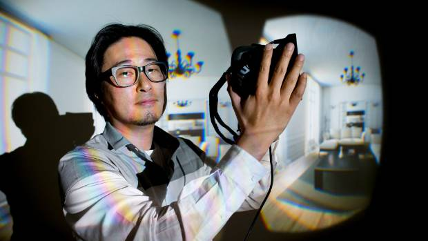 Dr Taehyun (James) Rhee, senior lecturer Vic Uni. developing 4D technology for multimedia applications.