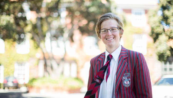 Teenager Matthew Strawbridge spreads the word on 'powers
