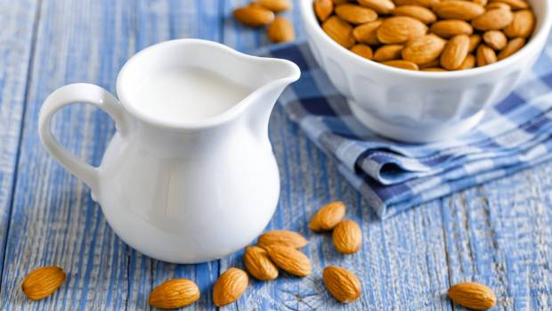 CHOICES: Plant milks like almond, oat, rice or soy are good alternatives to dairy.