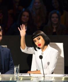 CONTROVERSIAL COMMENTS: Judge and mentor on X Factor NZ, Natalia Kills.