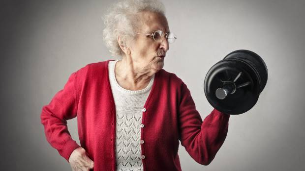 LOOKING GOOD: Lifting weights may be even more beneficial than we thought.