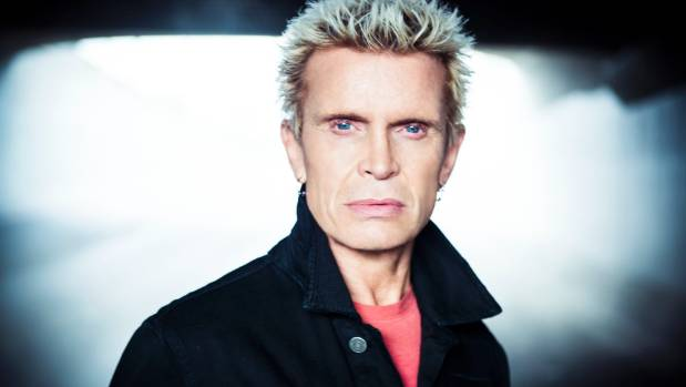 REBEL YELL: 'When I do a concert, I get to present my whole life for you in music,' says Billy Idol.